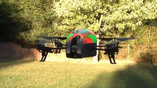 Parrot A.R. Drone Basic Flight Test.mp4