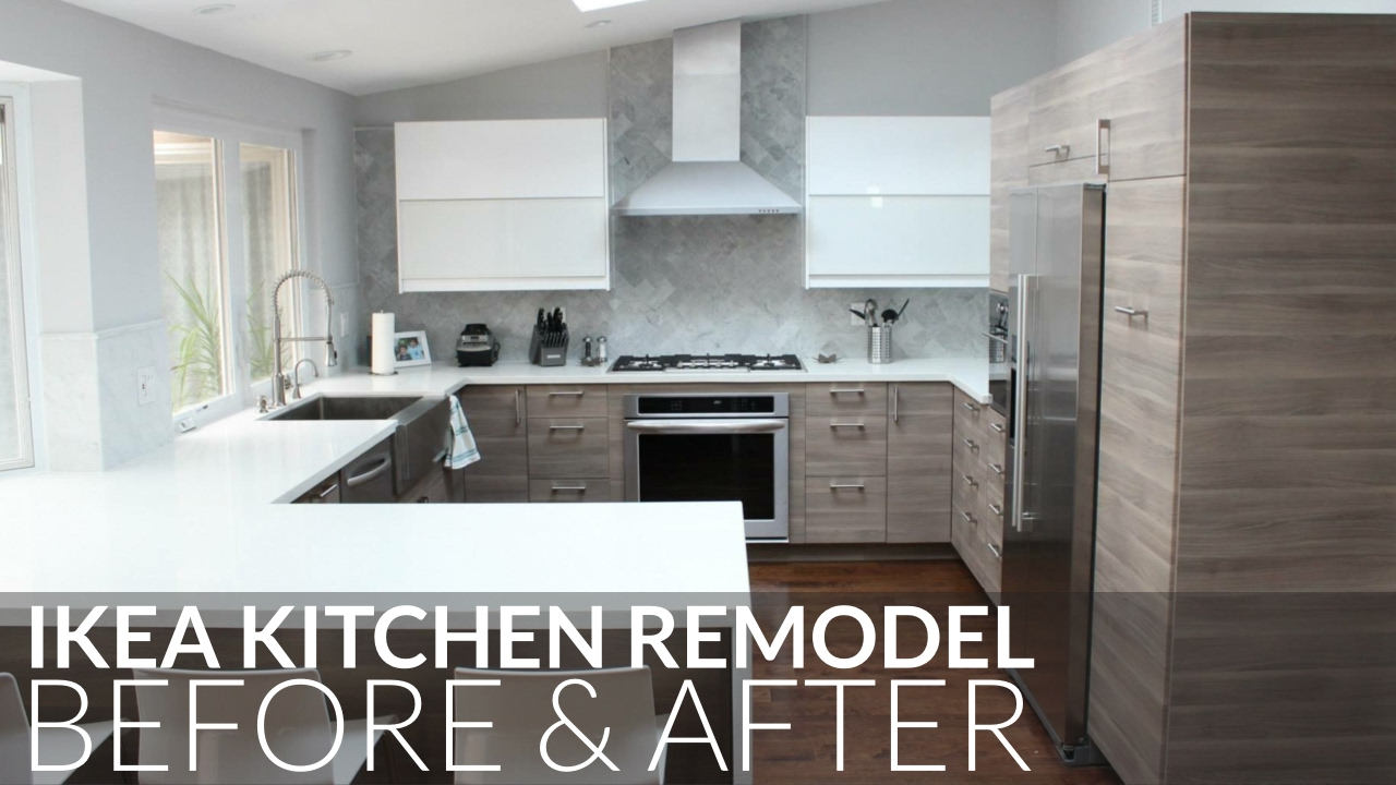 IKEA Kitchen Remodel Before & After Orange County - YouTube