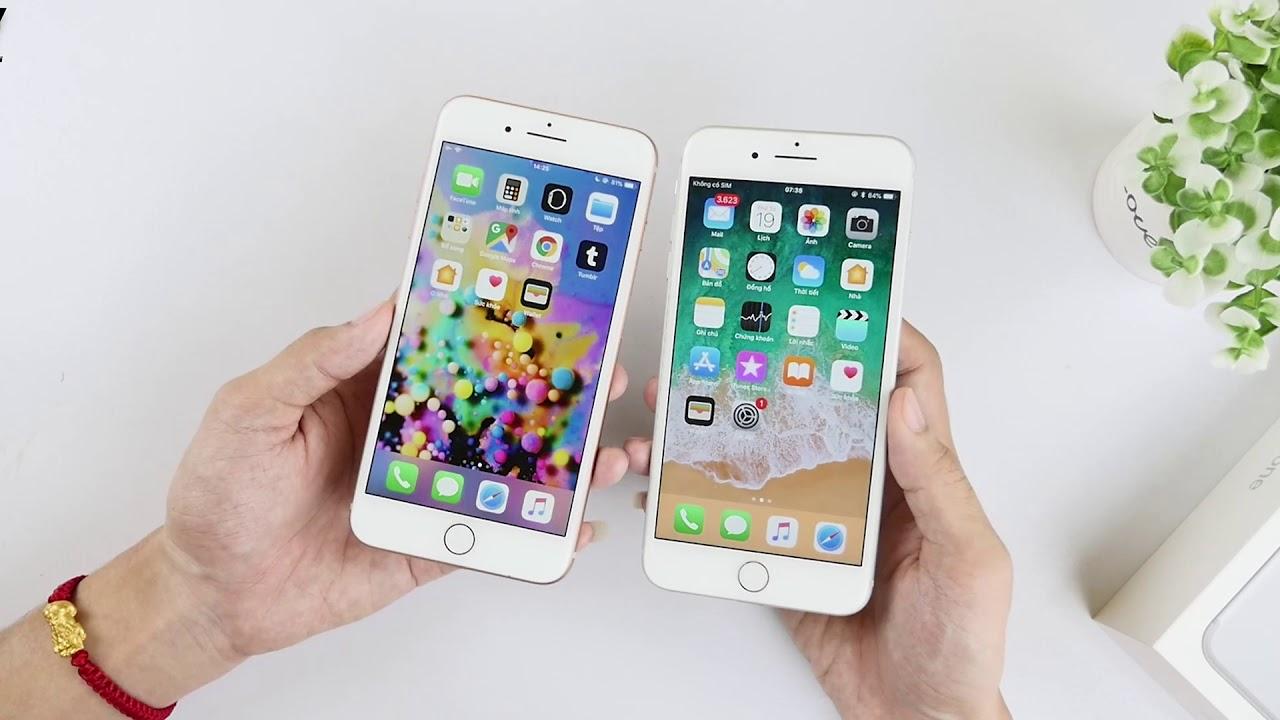 Kèo khó, iPhone 7 Plus CHÍNH HÃNG với iPhone 8 Plus cũ CÙNG GIÁ!