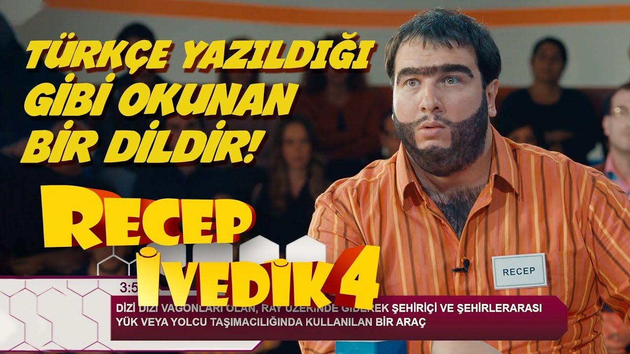 Türkçe Yazıldığı Gibi Okunan Bir Dildir | Recep İvedik 4