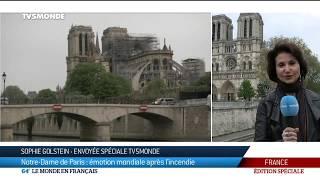 ÉDITION SPECIALE - Incendie de la cathédrale Notre-Dame de Paris - 64 Minutes - TV5MONDE