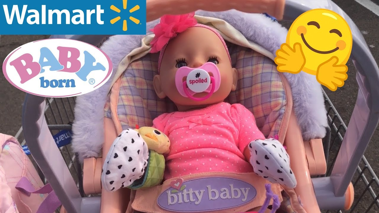 Baby Born Outing To Walmart With Desiree Zapf Creations Baby Born Video