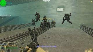 MATANDO ZOMBIES EN EUROPA! - Counter-Strike: Zombie Escape Mod - ze_sgun_v7