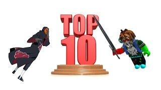 Top 10 Best Roblox Games In Our Opinion (with iosu616) #1