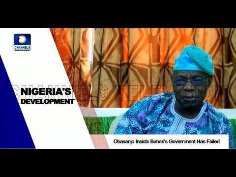Presidency Responds To Obasanjo's Failure Claim Pt.1 |News@10| 02/04/18