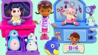 Disney Jr Friends Visit Doc McStuffins Toy Hospital for a Checkup!