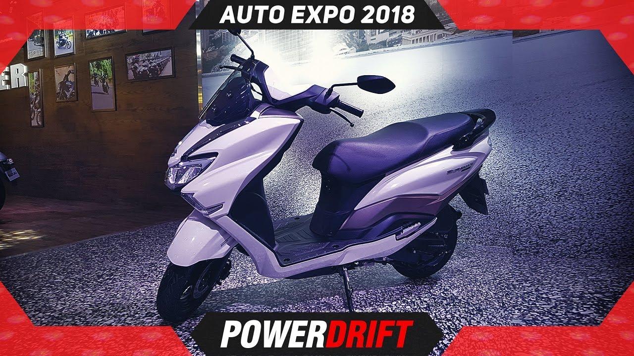 2018 Suzuki Burgman Street @ Autoexpo : PowerDrift