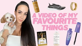 FAVOURITES VIDEO! Makeup, Shampoo, Books, Jewelry, Runners &amp more!