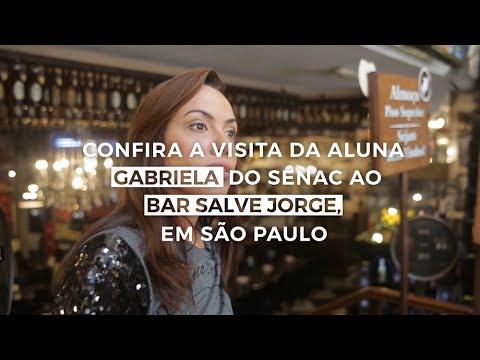 Visita ao Bar Salve Jorge em São Paulo