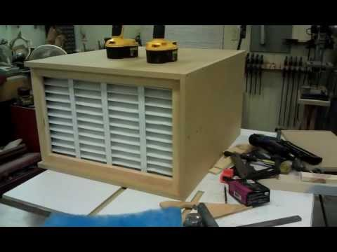 Homemade Shop Air Filtration System Part 2 Youtube