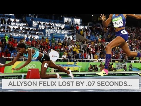 Shaunae Miller's dive wins gold in 400m final | Rio Olympics 2016