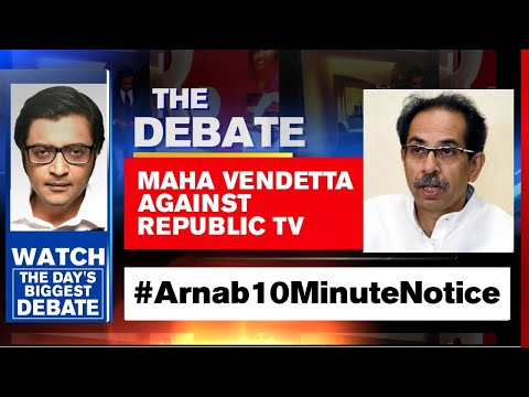 Maha Assembly Served Fourth Notice, Asked To Appear In 10 Minutes | The Debate With Arnab Goswami