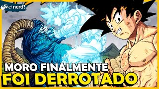 MORO FINALMENTE DERROTADO E VEGETA INJUSTIÇADO - DRAGON BALL SUPER CAPÍTULO 66