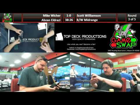 Friday Night Standard 06/03/16: Mike Wicher (Abzan Eldrazi) vs Scott Williamson (B/W Midrange)