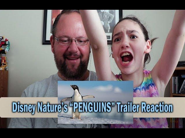Disneynature's Penguins Earth Day Trailer Reaction