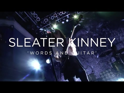 Sleater Kinney 'Words And Guitar' | NPR MUSIC FRONT ROW mp3