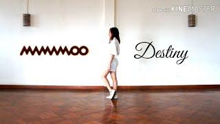 마마무 (MAMAMOO) - 우린 결국 다시 만날 운명이었지 (Destiny) (Queendom Ver.) Dance Cover by Angela Wang