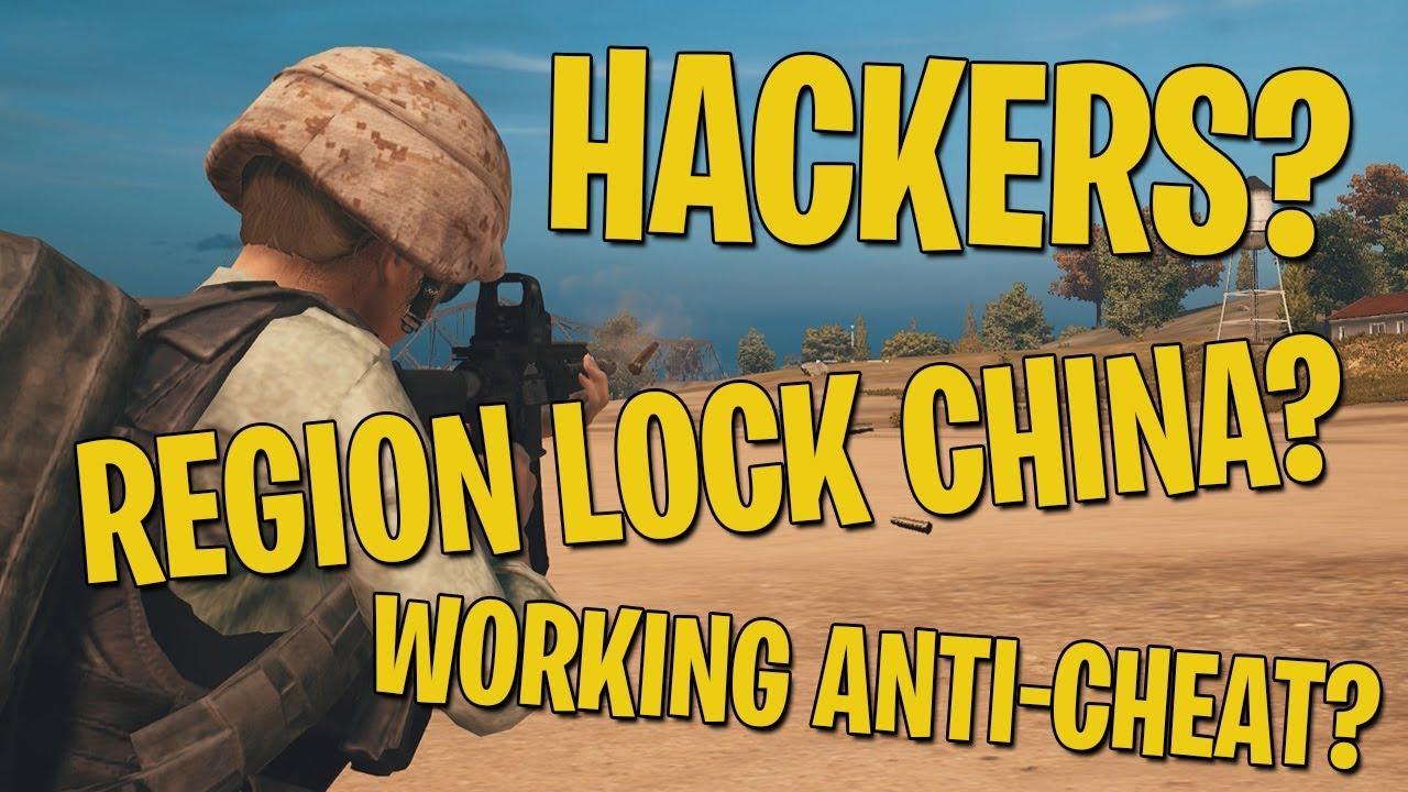 Hackers Region Lock China Working Anti Cheat PUBG