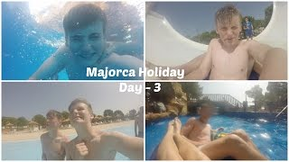 Day 3 - GoPro At The Waterpark  Majorca