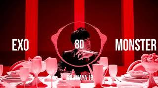 Gambar cover EXO (엑소) - MONSTER (몬스터) [8D USE HEADPHONES] 🎧