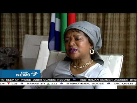 Mbete speaks about parliament issues in 2016