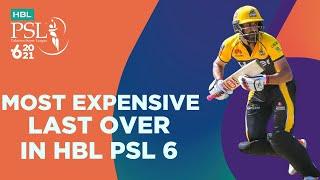 Most Expensive Last Over In HBL PSL 6 | Karachi Kings vs Peshawar Zalmi | Match 13 | MG2T