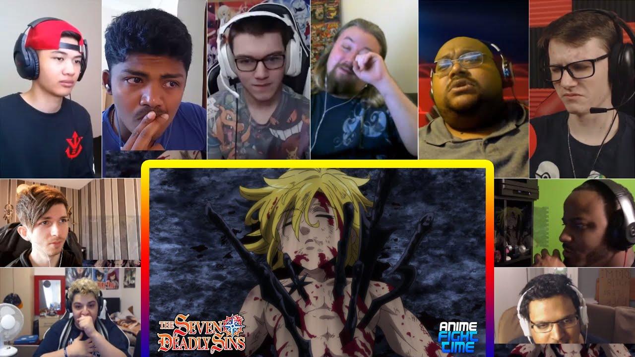 Download Seven Deadly Sins Vs. Ten Commandments (Part 4/5) Reactions Mashup | Anime Fight Club