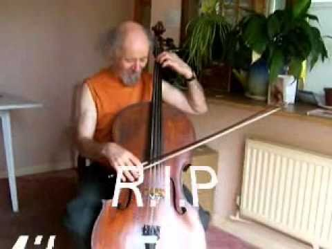 Mike Edwards ex ELO member plays the Cello for Martin Kinch