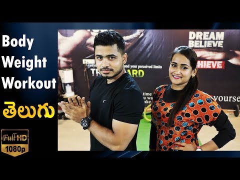 BodyWeight Workout for Men & Women by Krish Helath and Fitness