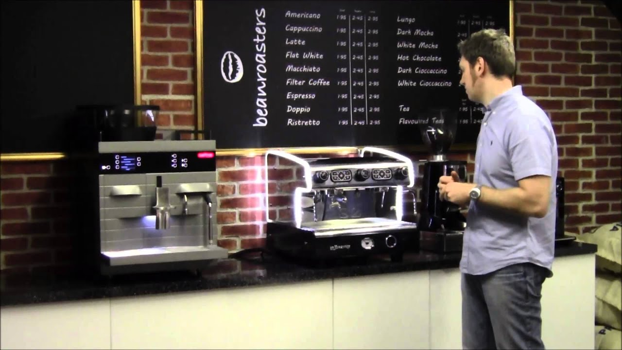 beanmachines review the la spaziale s2 coffee machine youtube. Black Bedroom Furniture Sets. Home Design Ideas