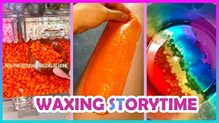 Satisfying Waxing Storytime ✨😲 Tiktok Compilation #14