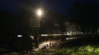 A Short Nighttime Switching Run With H-71