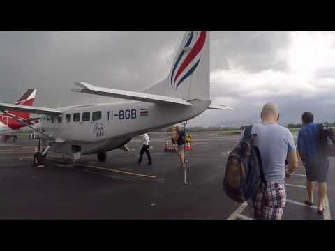 Costa Rica - My Experience Flying On SANSA Airlines