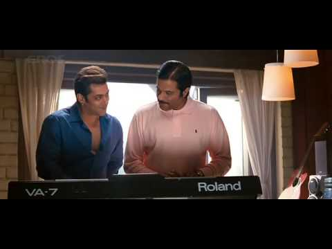 Anil Kapoor and Salman Khan scene