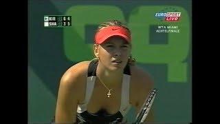 Maria Sharapova vs Maria Kirilenko Miami 2006 (2.+ 3.Set)