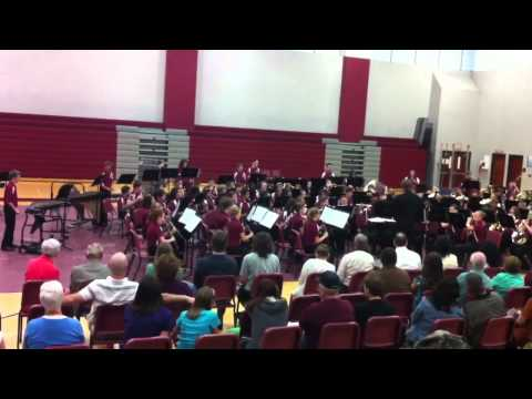 Collinsville Middle School Spring 2012 Band Concert