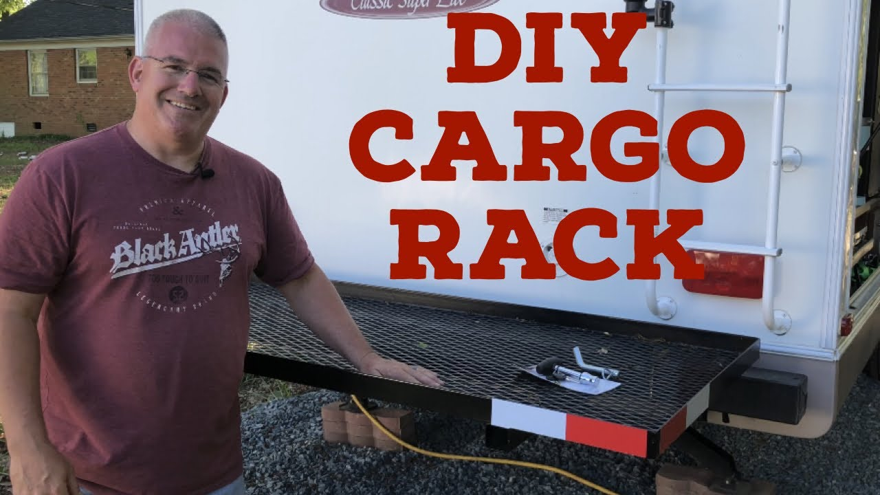diy cargo carrier for your rv travel trailer fifth wheel