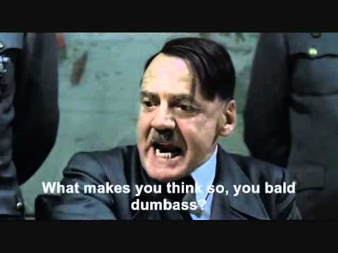 Hitler plans to get some lunch, but Goring ate all the food
