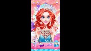 Princess dress up and makeover game