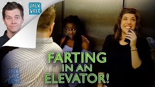 Farting In An Elevator (The Pooter!)