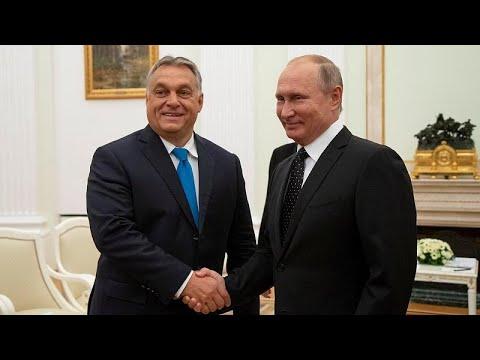 Putin e Orbán estreitam relações bilaterais