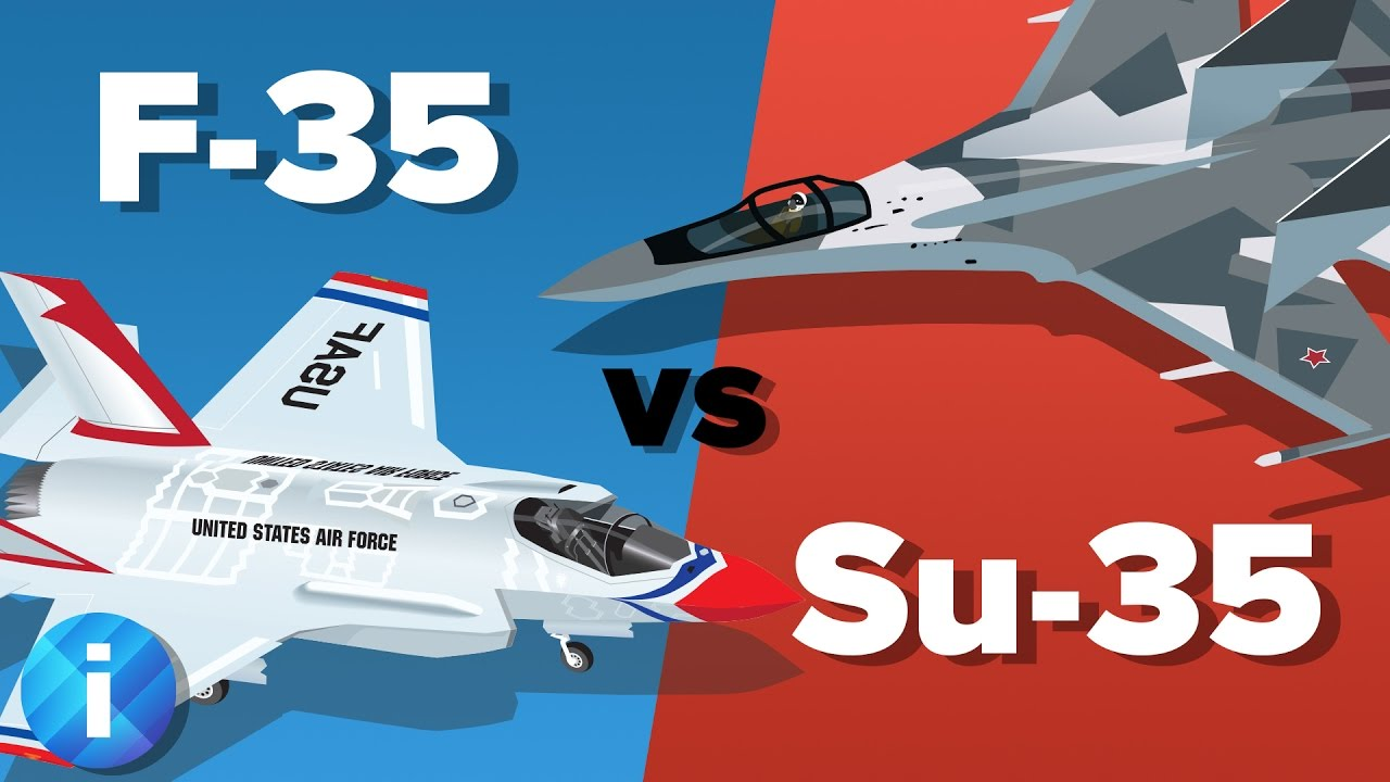US F-35 vs Russian Su-35 Fighter Jet - Which Would Win? - Military Comparison