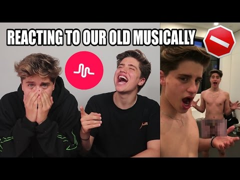 Thumbnail: REACTING TO OUR OLD MUSICALLYS (PRIVATE)