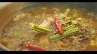 Paano magluto Ginisang Munggo Baboy recipe Pinoy Filipino Pork Mung Beans Tagalog