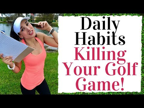 Golf Fitness Tips – Daily Habits Ruining Your Golf Swing
