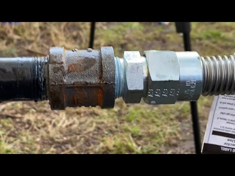 How to Make Gas Pipe connections