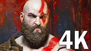 GOD OF WAR 4 - 16 Minutes of Gameplay Demo PS4 (2018) 4K
