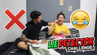 LIE DETECTOR TEST CHALLENGE!!! (SI ABBIE NA IYAKIN😁)