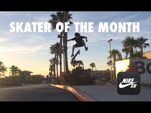Veja o video -SKATER OF THE MONTH – JUNE 16′ – NIKE SB APP