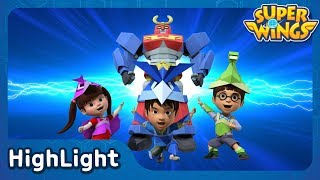 Paper Rangers | SuperWings Highlight | S1 EP16